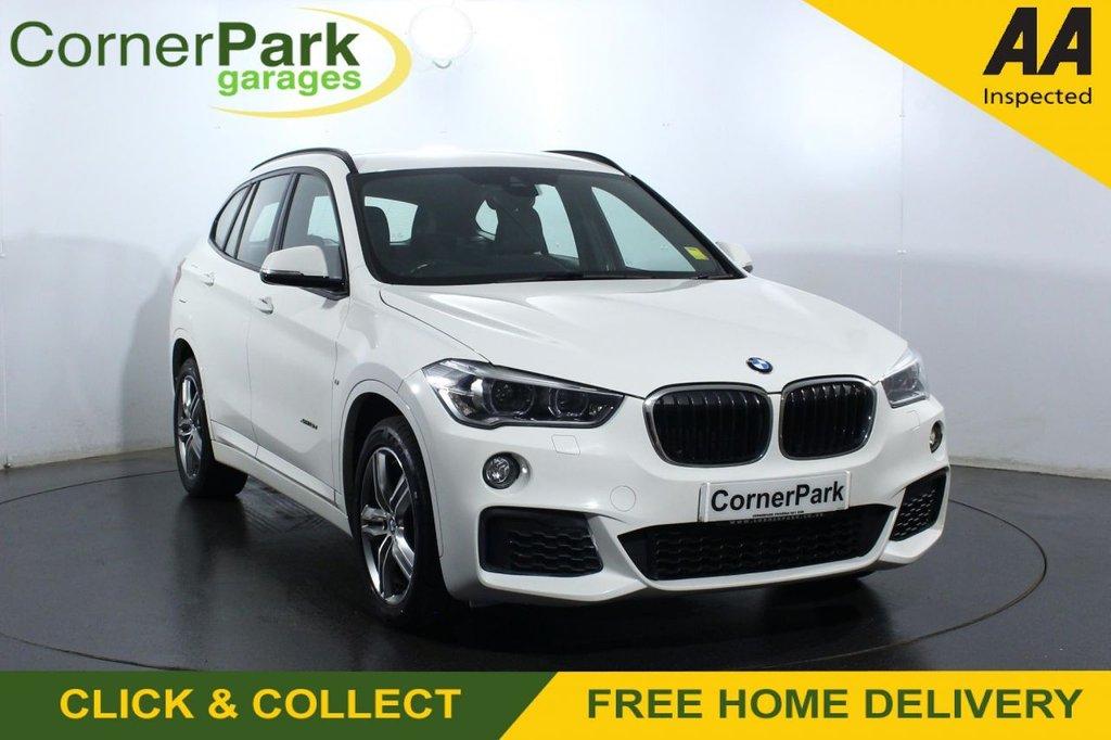 USED 2017 M BMW X1 2.0 XDRIVE18D M SPORT 5d 148 BHP