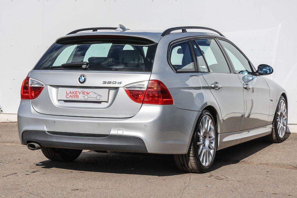 USED 2008 08 BMW 3 SERIES 2.0 320D EDITION M SPORT TOURING 5d 174 BHP