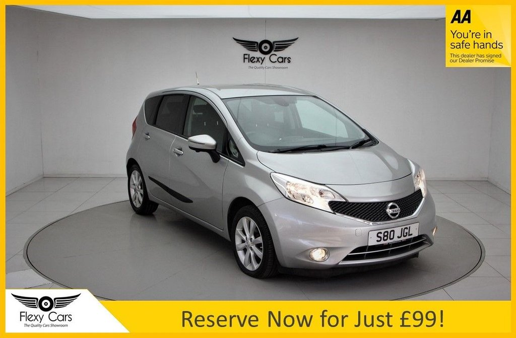 USED 2014 S NISSAN NOTE 1.2 TEKNA DIG-S 5d 98 BHP