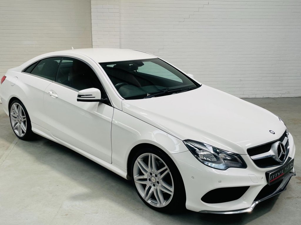 USED 2014 64 MERCEDES-BENZ E-CLASS 2.1 E220 CDI AMG SPORT 2d 170 BHP AMG Pack|Heated Red Leather|COMAND|19in Wheels|FINANCE
