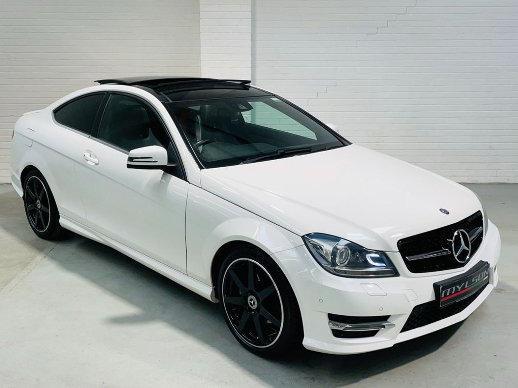 USED 2014 64 MERCEDES-BENZ C-CLASS 2.1 C250 CDI AMG SPORT EDITION PREMIUM PLUS 2d 202 BHP AMG Pack|Glass Roof|Reverse Cam|Heated Leather|FINANCE