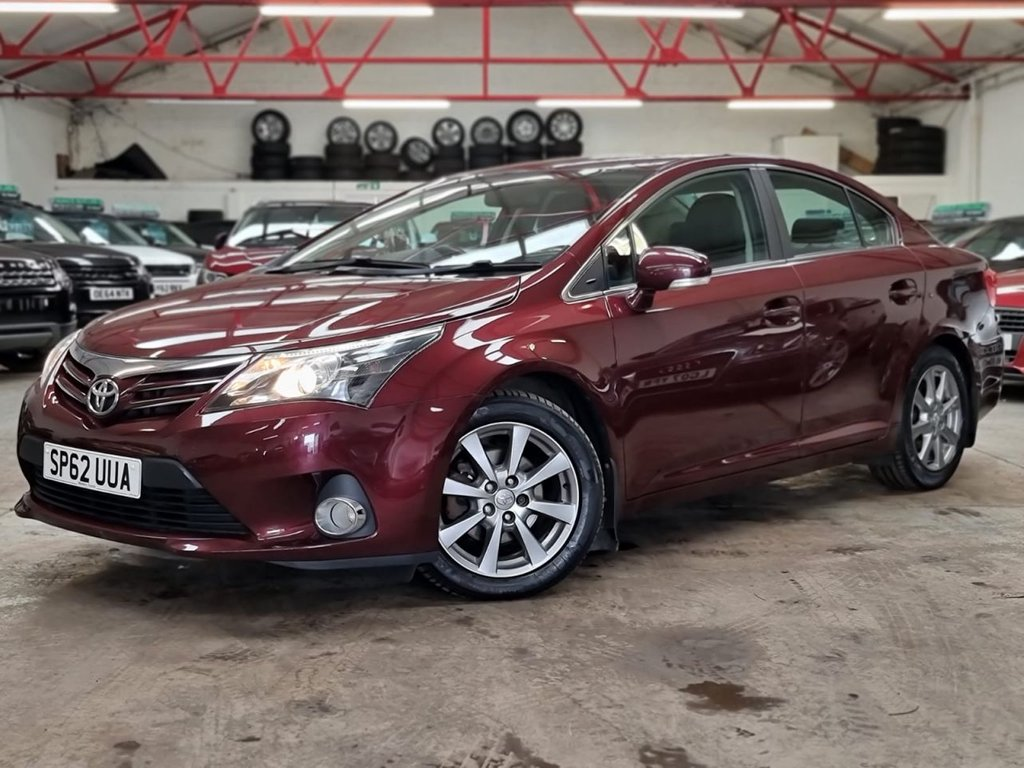 USED 2012 62 TOYOTA AVENSIS 2.0 T4 D-4D 4d 124 BHP