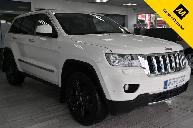 USED 2013 13 JEEP GRAND CHEROKEE 3.0 V6 CRD OVERLAND 5d 237 BHP