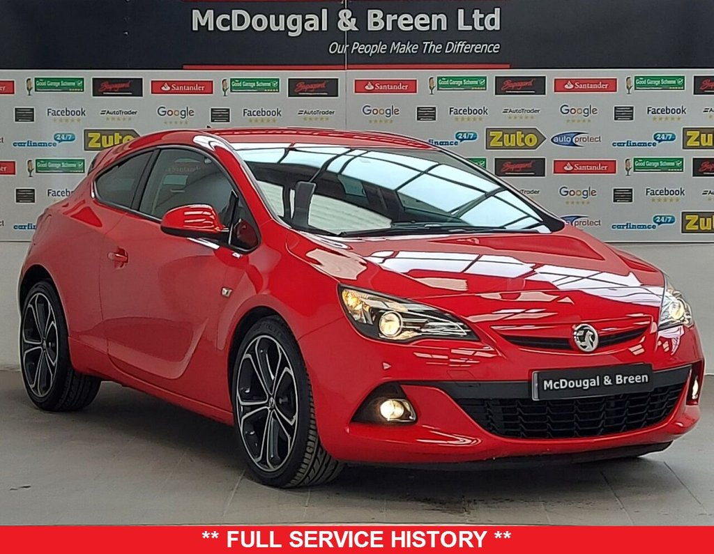 USED 2015 15 VAUXHALL ASTRA GTC 1.4 LIMITED EDITION S/S 3d 118 BHP