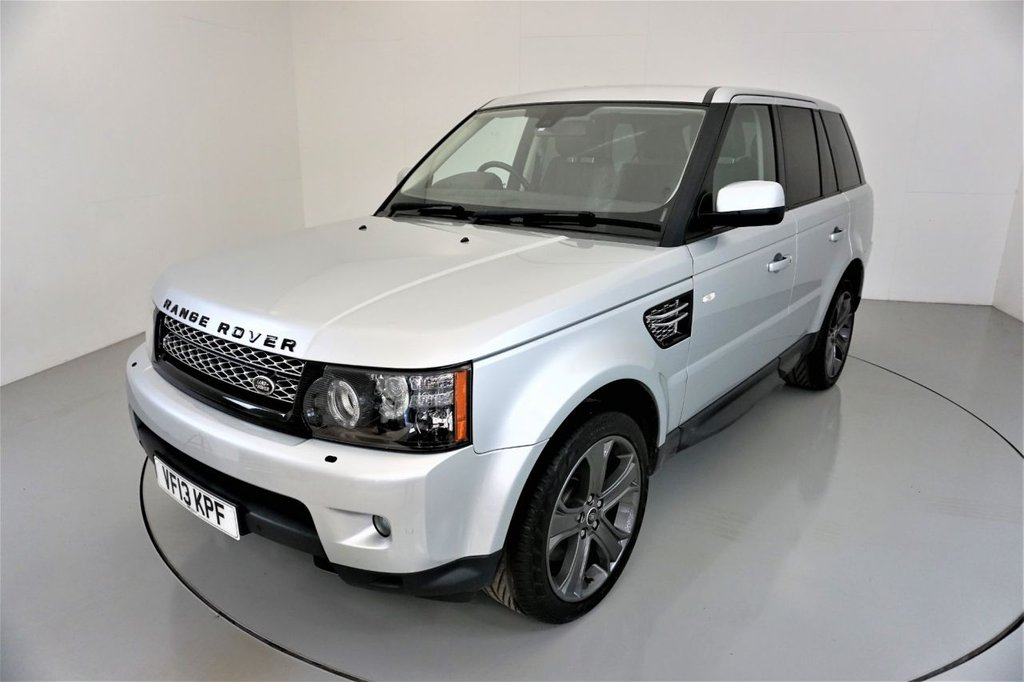 USED 2013 13 LAND ROVER RANGE ROVER SPORT 3.0 SDV6 HSE BLACK 5d AUTO-HEATED BLACK LEATHER-20