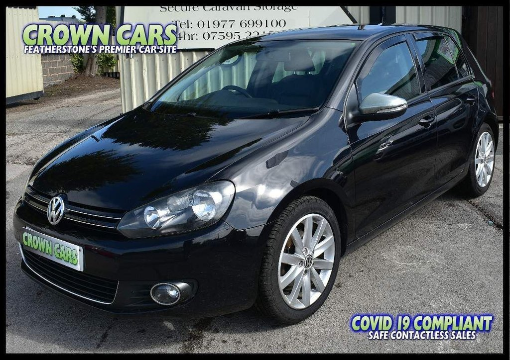 USED 2012 12 VOLKSWAGEN GOLF 2.0 TDI GT 5dr AMAZING VALUE GT SPECIFICATION