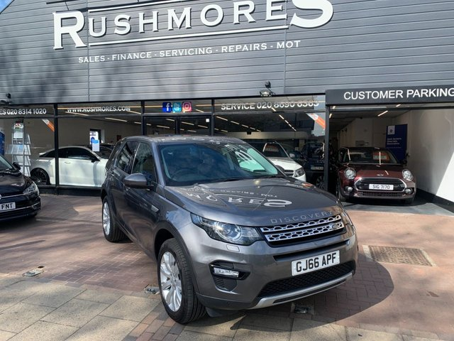 USED 2016 66 LAND ROVER DISCOVERY SPORT 2.0 TD4 HSE 5d 180 BHP Huge spec including the all important pan roof, rear camera, upgraded alloys, up grade speakers