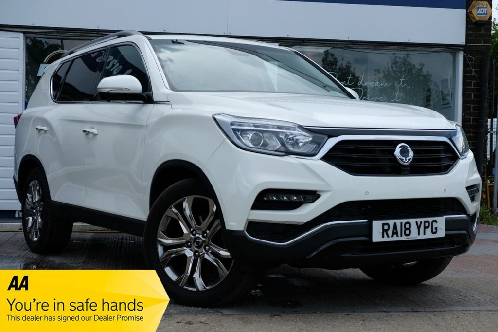 USED 2018 18 SSANGYONG REXTON 2.2 ULTIMATE 5d 179 BHP AUTOMATIC BALANCE OF MANUFACTURERS WARRANTY AVAILABLE FOR £385 PER MONTH £0 DEPOSIT