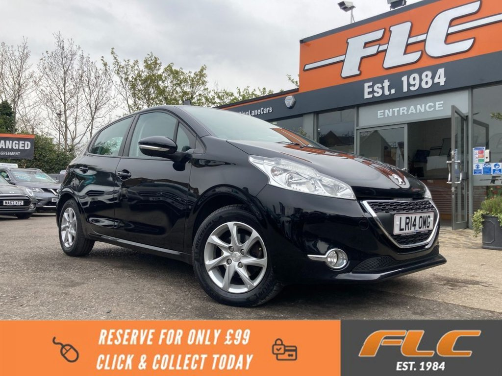 USED 2014 14 PEUGEOT 208 1.0 ACTIVE 5d 68 BHP