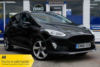 2019 FORD FIESTA 1.0 ACTIVE X 5d 123 BHP £13950.00