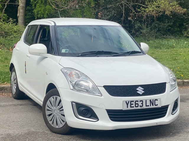 USED 2013 63 SUZUKI SWIFT 1.2 SZ2 5d 94 BHP GREAT VALUE FOR MONEY STARTER CAR