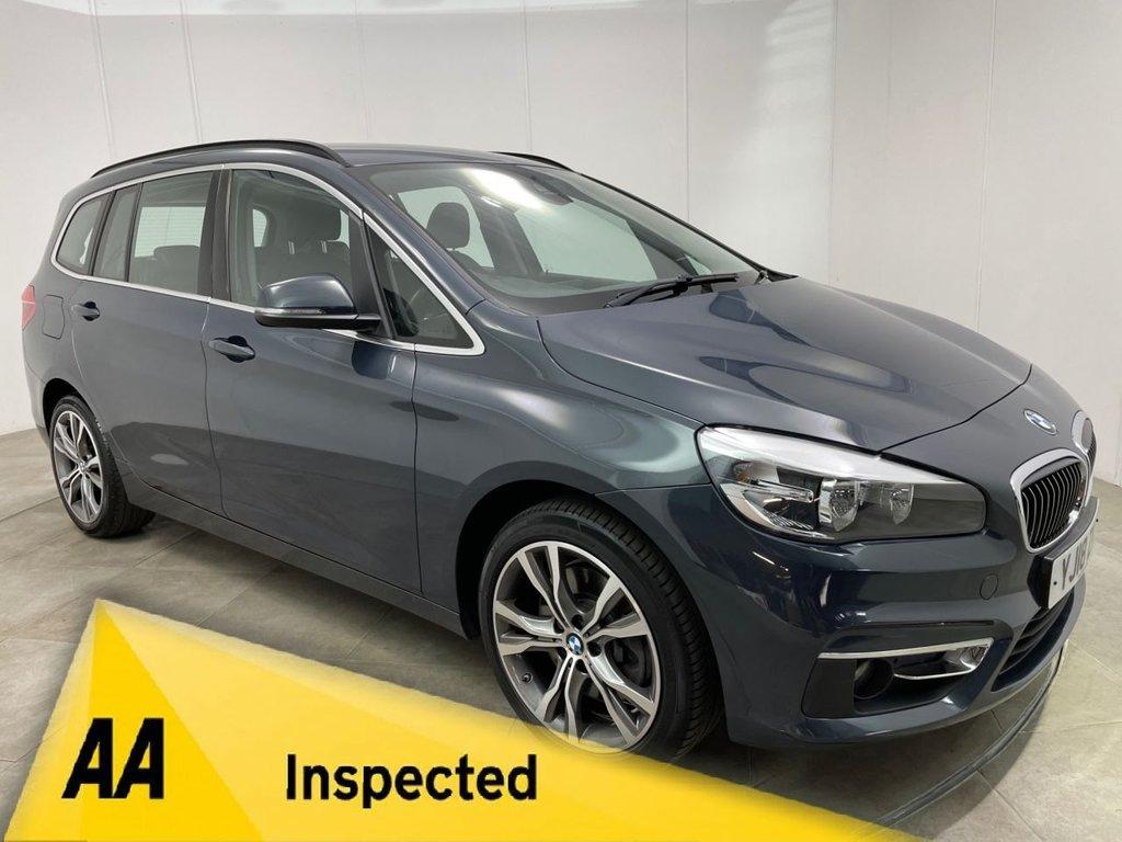 USED 2018 18 BMW 2 SERIES 2.0 220D LUXURY GRAN TOURER 5d 188 BHP
