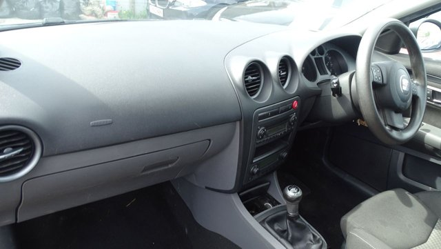 USED 2008 58 SEAT IBIZA 1.4 SPORTRIDER 3d 99 BHP DRIVES WELL