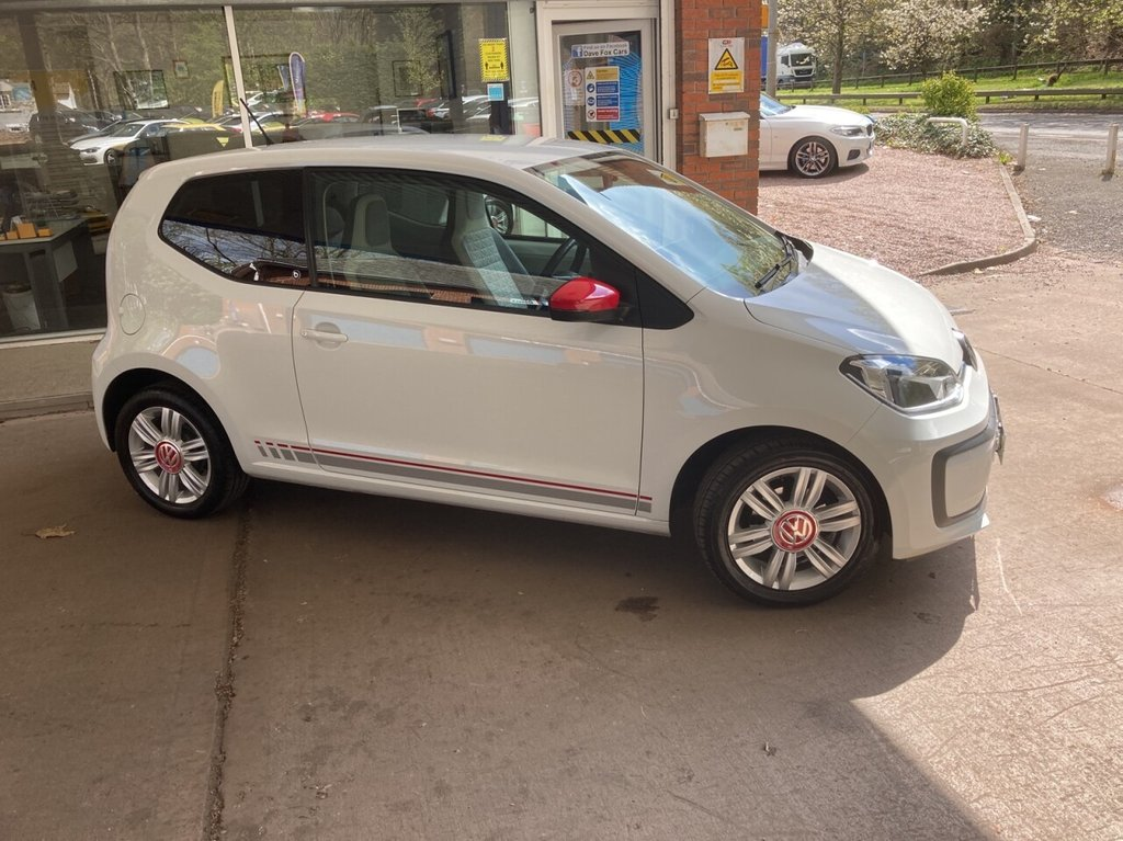 USED 2018 18 VOLKSWAGEN UP 1.0 UP BY BEATS BLUEMOTION TECHNOLOGY 3d 60 BHP
