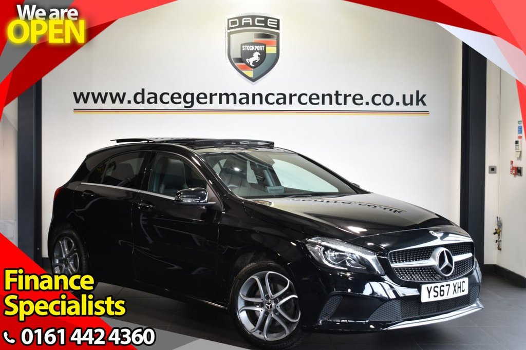 USED 2018 67 MERCEDES-BENZ A-CLASS 2.1 A 200 D SPORT EDITION PLUS 5DR AUTO 134 BHP