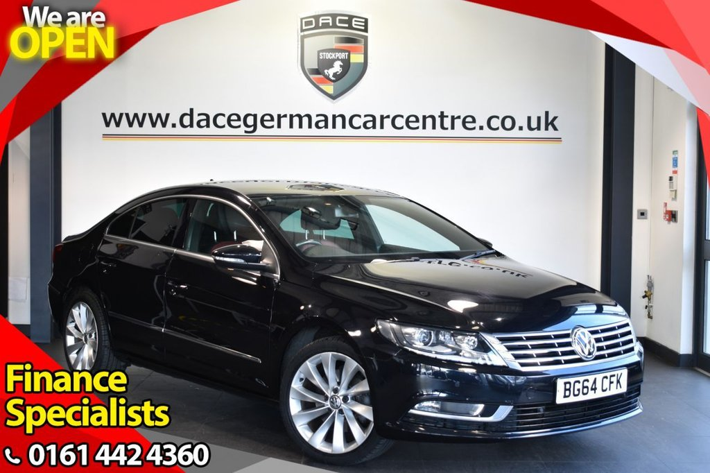 USED 2014 64 VOLKSWAGEN CC 2.0 GT TDI BLUEMOTION TECHNOLOGY 4DR 138 BHP