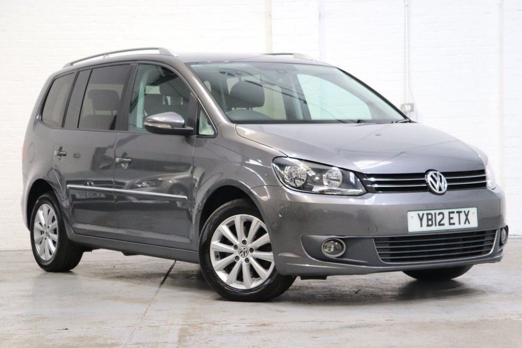USED 2012 12 VOLKSWAGEN TOURAN 2.0 SPORT TDI BLUEMOTION TECHNOLOGY 5d 138 BHP Cruise + Parking Aid + Dab + Fsh