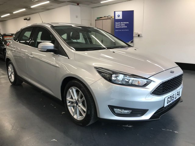 USED 2015 15 FORD FOCUS 1.6 ZETEC 5d 124 BHP 1 owner from new with great spec including rear parking sensors, bluetooth phone and audio