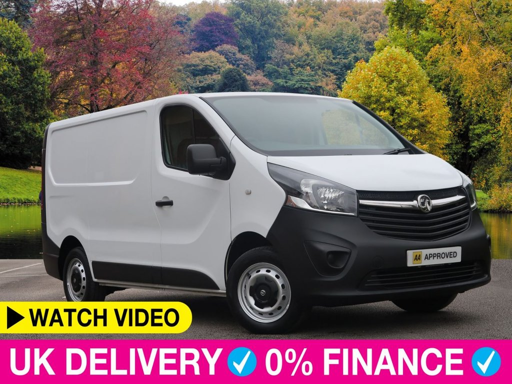 USED 2015 64 VAUXHALL VIVARO 1.6 CDTi ecoFLEX L1 H1 2700 Van 5dr Bluetooth Ply Lined Very Clean
