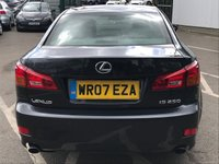 USED 2007 07 LEXUS IS 2.5 250 SE-L 4d 204 BHP LEATHER INTERIOR - SAT NAV