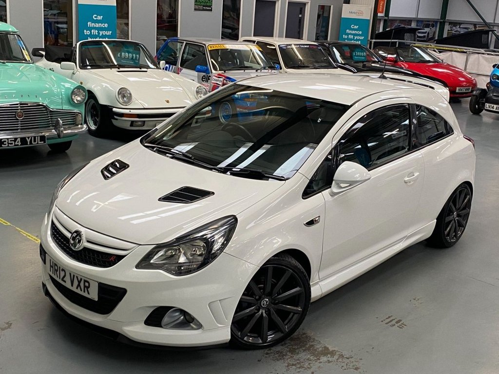 USED 2012 12 VAUXHALL CORSA 1.6 i 16v VXR Nurburgring Edition 3dr Rare Special Edition
