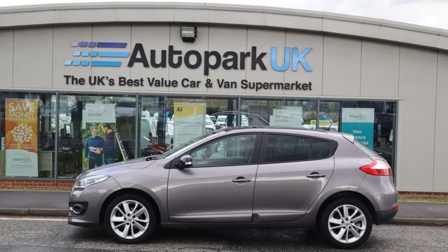 USED 2014 12 RENAULT MEGANE 1.5 LIMITED ENERGY DCI S/S 5d 110 BHP LOW DEPOSIT OR NO DEPOSIT FINANCE AVAILABLE . COMES USABILITY INSPECTED WITH 30 DAYS USABILITY WARRANTY + LOW COST 12 MONTHS ESSENTIALS WARRANTY AVAILABLE FROM ONLY £199 (VANS AND 4X4 £299) DETAILS ON REQUEST. ALWAYS DRIVING DOWN PRICES . BUY WITH CONFIDENCE . OVER 1000 GENUINE GREAT REVIEWS OVER ALL PLATFORMS FROM GOOD HONEST CUSTOMERS YOU CAN TRUST .