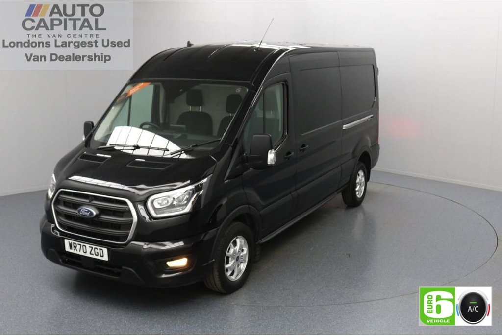 USED 2020 70 FORD TRANSIT 2.0 350 FWD Limited EcoBlue Auto 185 BHP L3 H2 Low Emission Automatic | Sat Nav | AppLink | Ford SYNC 3 | Apple CarPlay | Eco | Air Con | Start/Stop | F-R Sensors