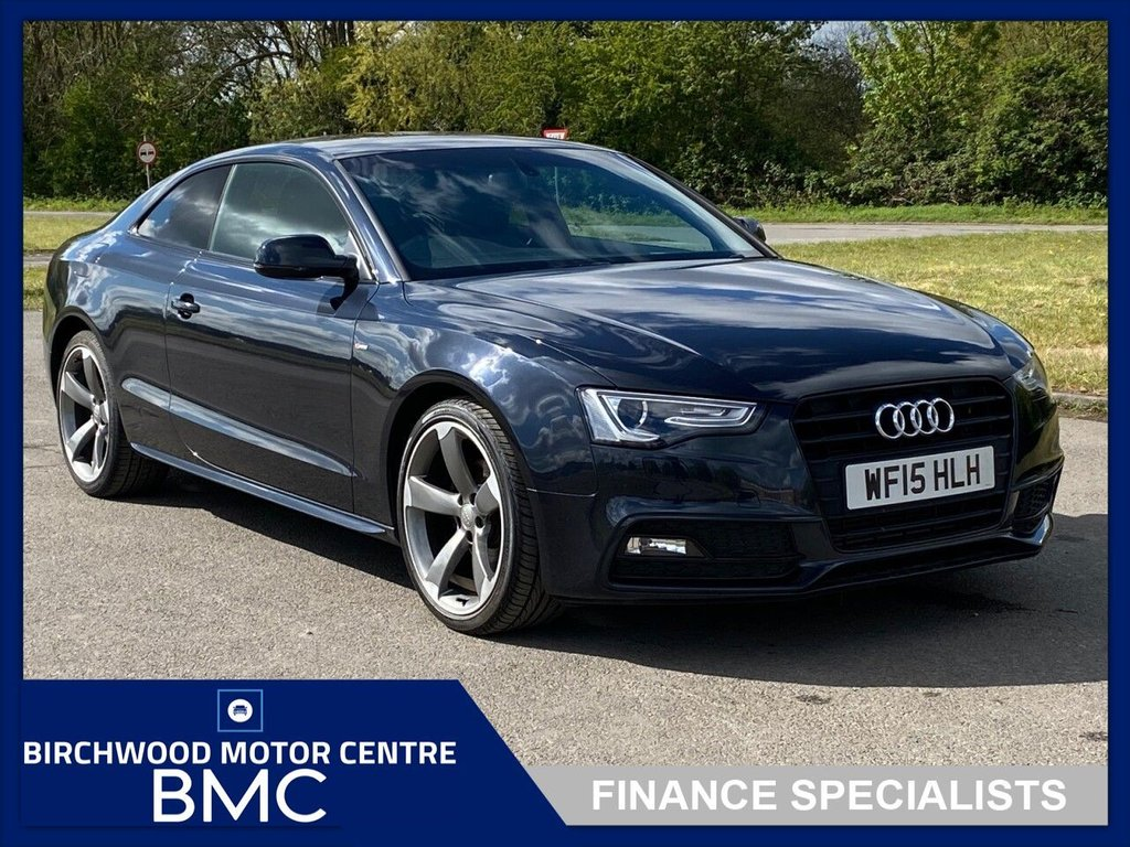USED 2015 15 AUDI A5 2.0 TDI BLACK EDITION 2d 177 BHP