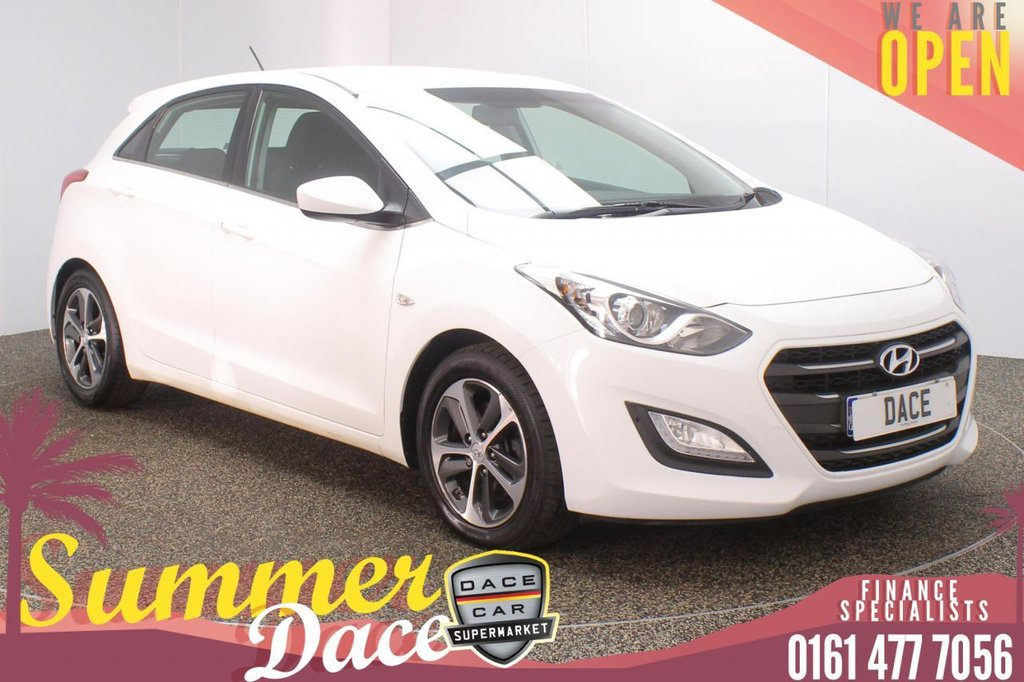 USED 2016 66 HYUNDAI I30 1.6 CRDI SE BLUE DRIVE 5DR AUTO 109 BHP SERVICE HISTORY + £20 12 MONTHS ROAD TAX + PARKING SENSOR + BLUETOOTH + CRUISE CONTROL + MULTI FUNCTION WHEEL + AIR CONDITIONING + AUX/USB PORTS + ELECTIC WINDOWS + ELECTRIC DOOR MIRRORS + 16 INCH ALLOY WHEELS