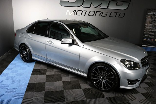 USED 2014 63 MERCEDES-BENZ C-CLASS 2014 MERCEDES C250 CDI BLUEEFFICIENCY AMG SPORT PREMIUM NIGHT EDITION STYLE 202BHP (FINANCE AND WARRANTY)