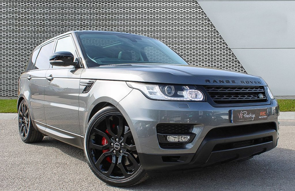 "USED 2015 15 LAND ROVER RANGE ROVER SPORT 3.0 SDV6 HSE 5d 306 BHP PAN ROOF/22"" ALLOYS/BLACK PACK"