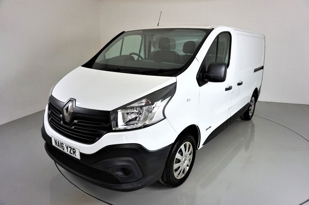 USED 2016 16 RENAULT TRAFIC 1.6 SL27 BUSINESS DCI S/R P/V  115 BHP