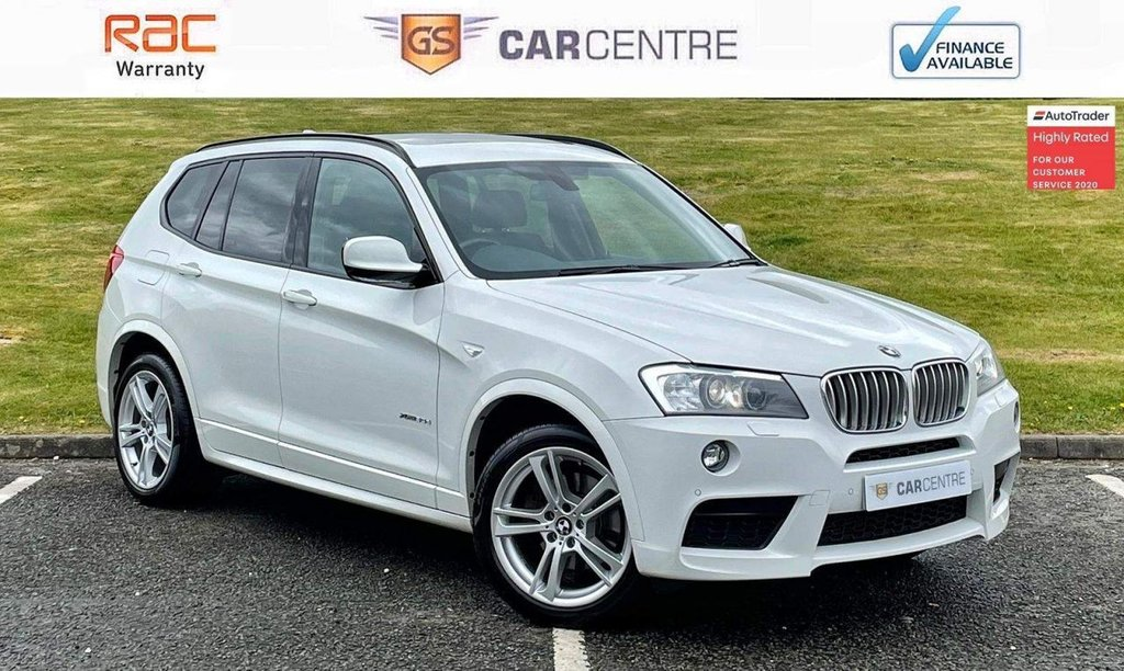 USED 2014 63 BMW X3 3.0 30d M Sport Auto xDrive 5dr *7.9% APR Finance Available*