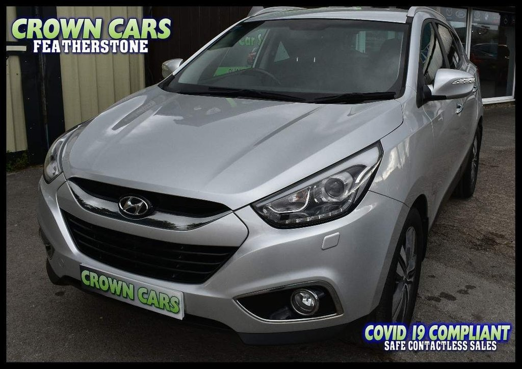 USED 2014 64 HYUNDAI IX35 1.7 CRDi Premium 5dr AMAZING SPECIFICATION HYUNDAI