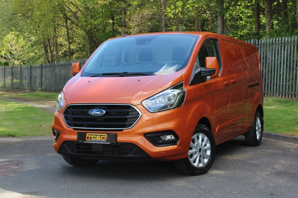 USED 2018 68 FORD TRANSIT CUSTOM 2.0 300 LIMITED P/V L2 H1 129 BHP A LWB CUSTOM LIMITED WITH NO VAT TO ADD AND A FULL FORD SERVICE HISTORY!!!