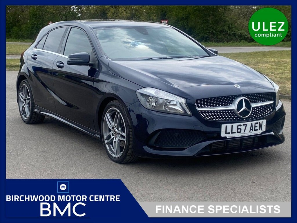 USED 2017 67 MERCEDES-BENZ A-CLASS 2.1 A 200 D AMG LINE 5d 134 BHP