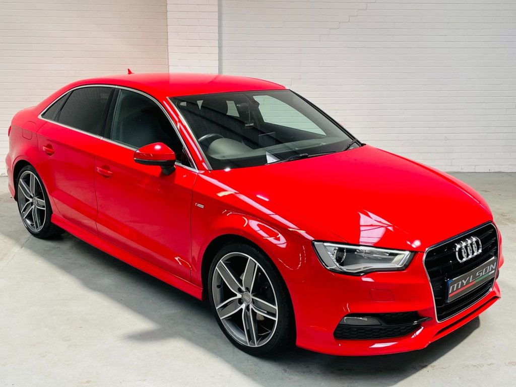 USED 2016 16 AUDI A3 1.4 TFSI S LINE NAV 4d 148 BHP BO Audio|19s|Sat Nav|Privacy Glass|FASH|AA Pass|FINANCE
