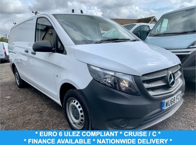 USED 2018 68 MERCEDES-BENZ VITO 1.6 111 CDI 114 BHP