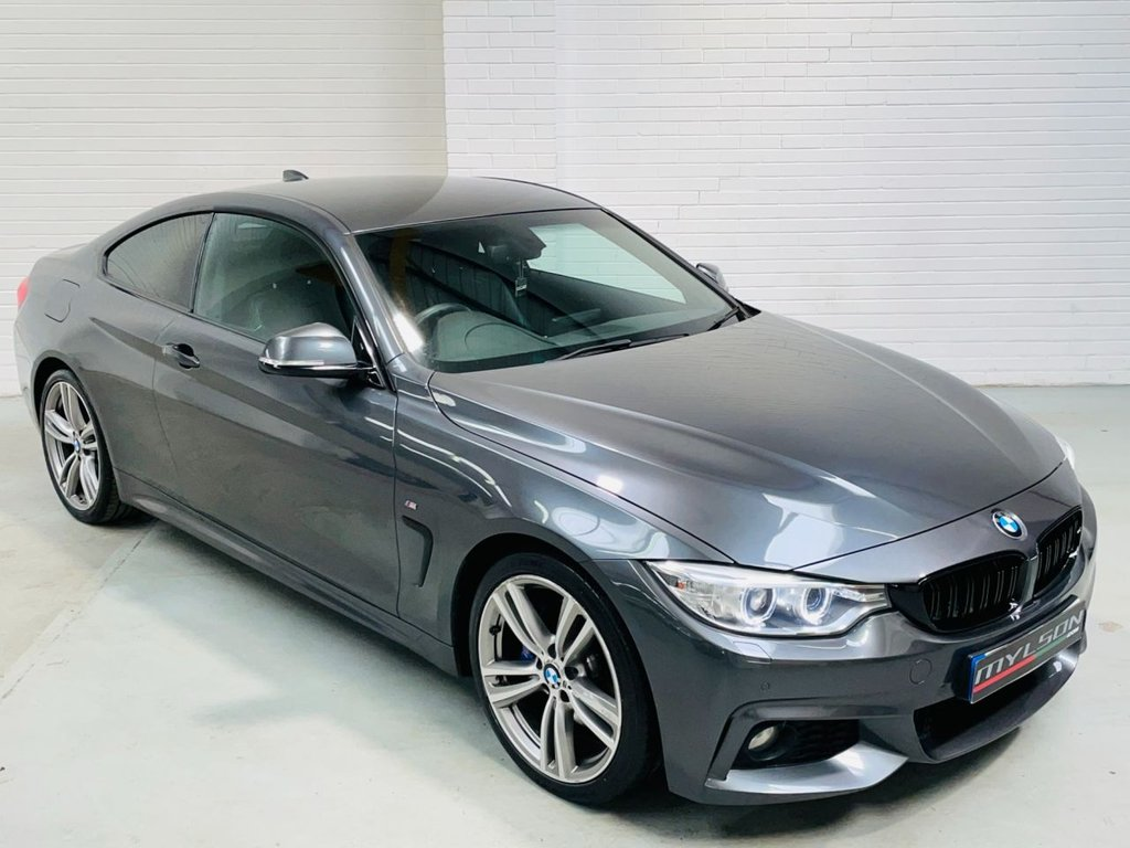 USED 2014 64 BMW 4 SERIES 2.0 420D M SPORT 2d 181 BHP Pro Nav|19in|Tints|AA Inspected|Warranty|FINANCE