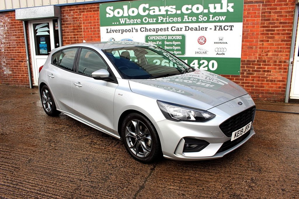 USED 2019 19 FORD FOCUS 1.5 ST-LINE 5d 148 BHP +SAT NAV +DAB +CAR PLAY.