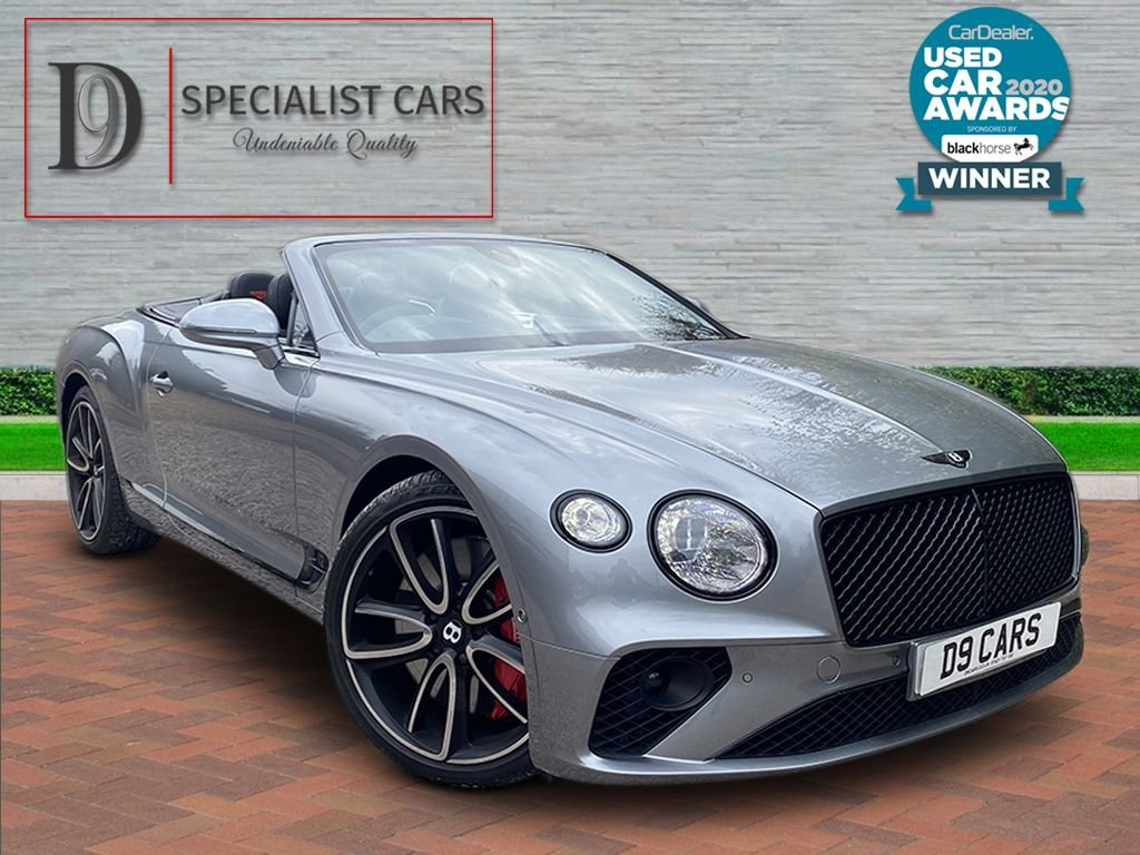 USED 2019 02 BENTLEY CONTINENTAL 6.0 GT 2d 627 BHP