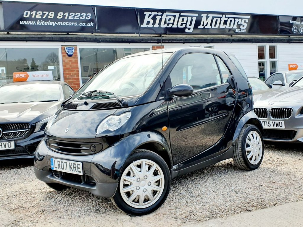 USED 2007 07 SMART FORTWO 0.7 PURE SOFTOUCH 2d 61 BHP