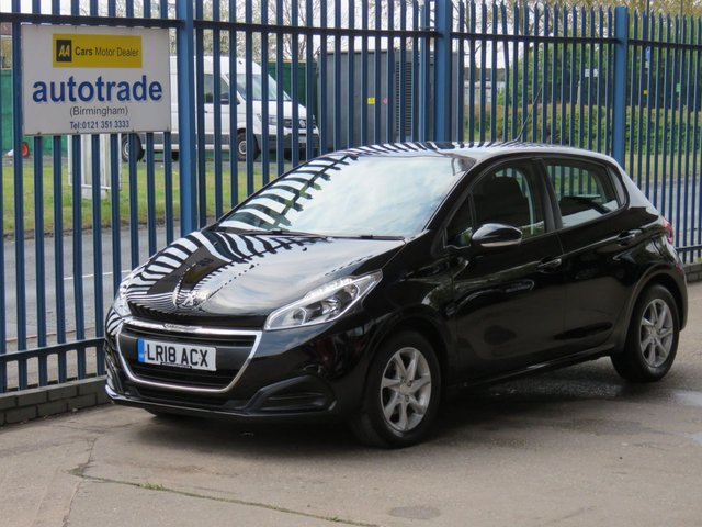 USED 2018 18 PEUGEOT 208 1.2 ACTIVE 5d 68 BHP. APPLE CAR PALY/ANDROID AUTO-A/C-DAB-BLUETOOTH APPLE CAR PLAY/ANDROID AUTO-AC-DAB-BLUETOOTH-ALLOYS-LED LIGHTS