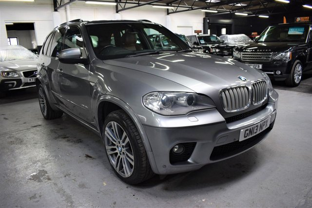 USED 2013 13 BMW X5 3.0 XDRIVE40D M SPORT 5d 302 BHP LOVELY CONDITION - 40D TWIN TURBO M SPORT - ONE PREVIOUS KEEPER - LEATHER - NAV - HEATED SEATS - 20 INCH ALLOY WHEELS