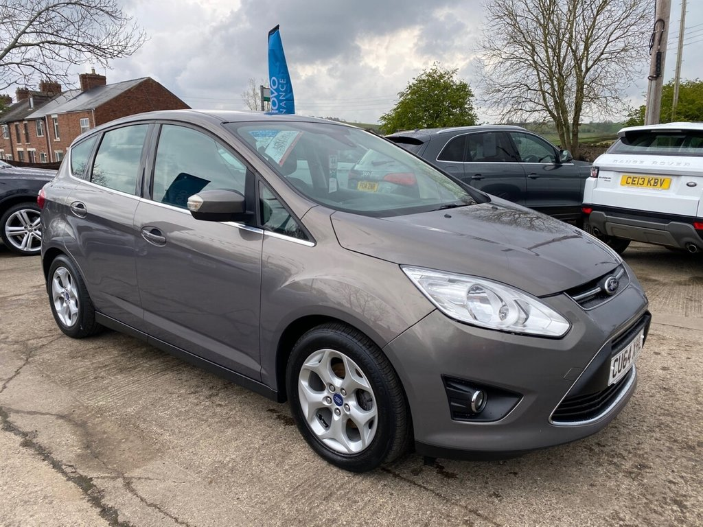 USED 2014 64 FORD C-MAX 1.6 ZETEC TDCI 5d 114 BHP * 1 OWNER * BLUETOOTH * PARKING AID * EXCELLENT VALUE *