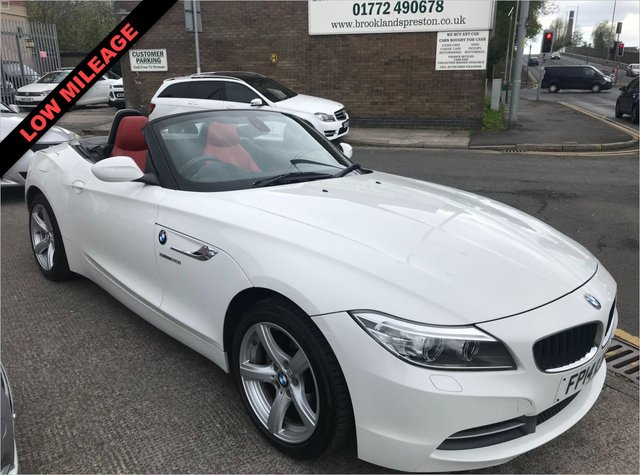 USED 2014 14 BMW Z4  Z4 SDRIVE20I CONVERTIBLE/ROADSTER 2DR 184 BHP