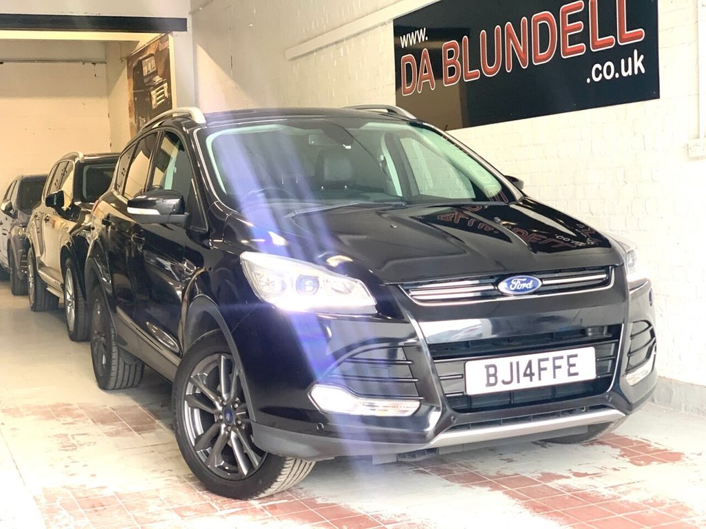 USED 2014 14 FORD KUGA 2.0 TITANIUM X TDCI 5d 160 BHP PAN ROOF+LEATHER+NAV+R.CAMERA