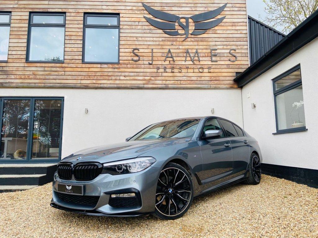 USED 2018 18 BMW 5 SERIES 3.0 530D XDRIVE M SPORT 4d AUTO 261 BHP