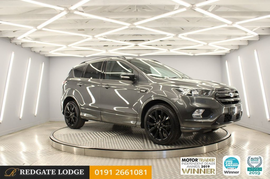 USED 2018 18 FORD KUGA 1.5 ST-LINE X TDCI 5d 119 BHP 1 OWNER, SAT/NAV, DAB, GLASS ROOF, BLUETOOTH, TINTED GLASS