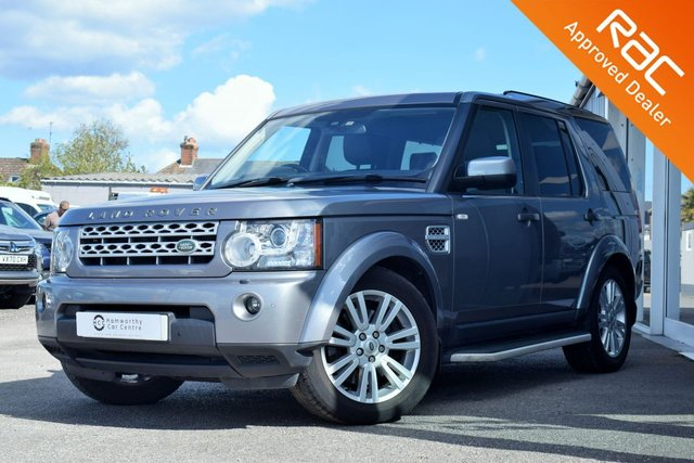 2012 T LAND ROVER DISCOVERY 4 3.0 4 SDV6 XS 5d 255 BHP VERY LOW-MILES